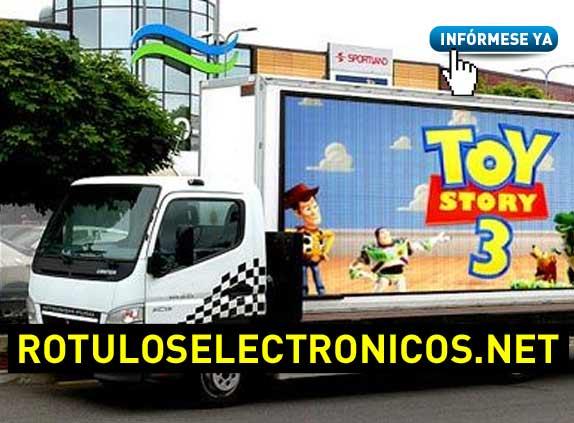 camiones publicitarios