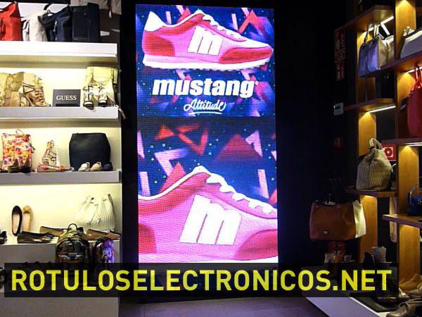 pantalla led para tiendas